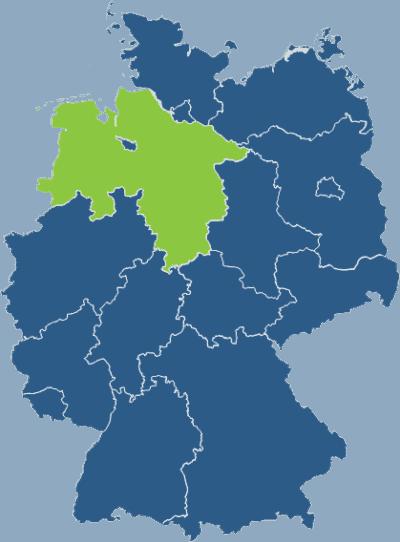 Lokales SEO Deutschlandkarte